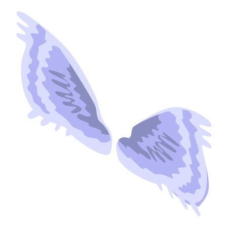 Heraldic wings icon, isometric style Stockfoto - 142699920