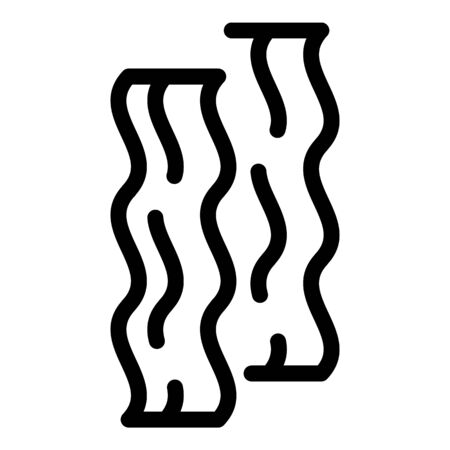 Meat after grinder icon, outline style