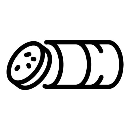 Gastronomy sausage icon, outline style