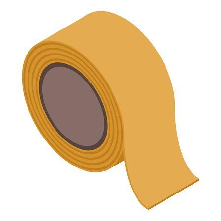 Bandage scotch icon, isometric style
