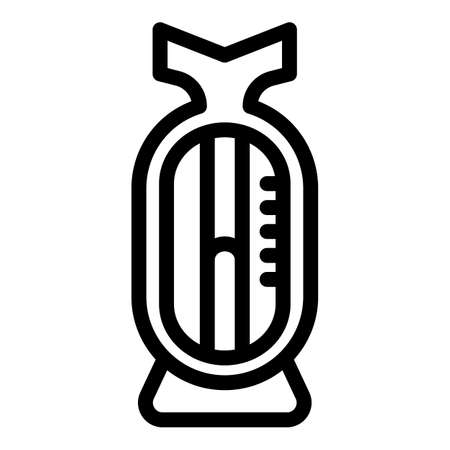 Infant toy icon, outline style