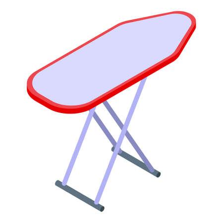 Ironing board icon, isometric style