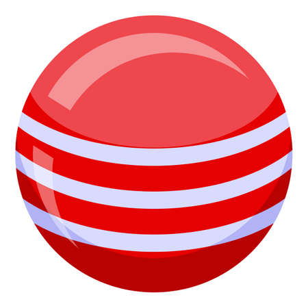 Ball bath toy icon, isometric style  イラスト・ベクター素材