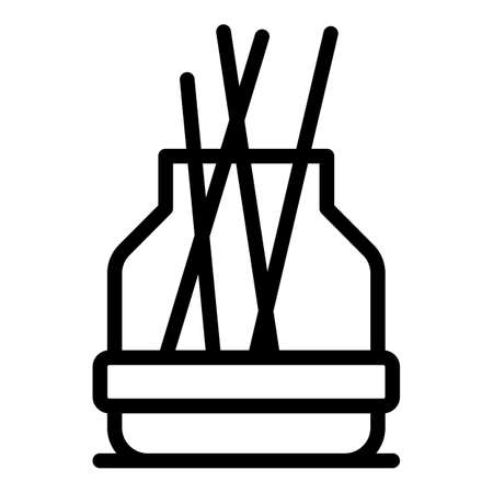 Therapy diffuser icon, outline style