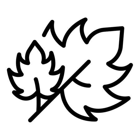 Parsley cook icon, outline style