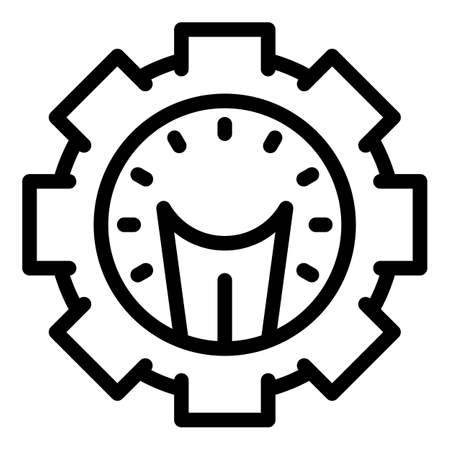 Project idea icon, outline style
