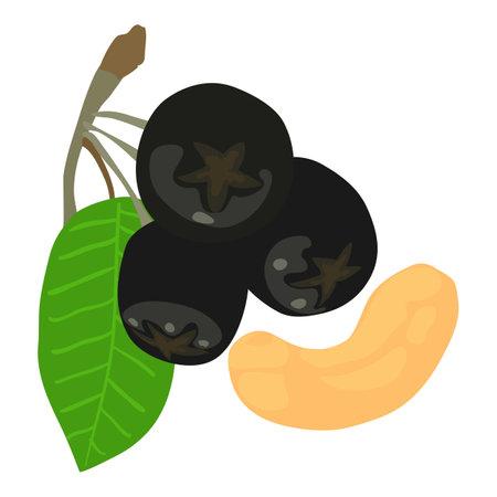 Fresh food icon, isometric style