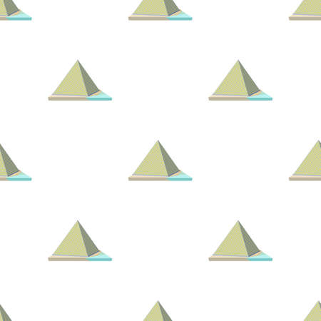 Louvre pyramid pattern seamless background texture repeat wallpaper geometric vector