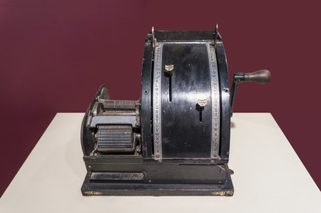 periodicals: Addressing machines are used to print names and addresses on newspapers, mailing labels, envelopes, form letters, and other items. The earliest addressing machines appear to have been used by publishers of periodicals, among others. These machines eve