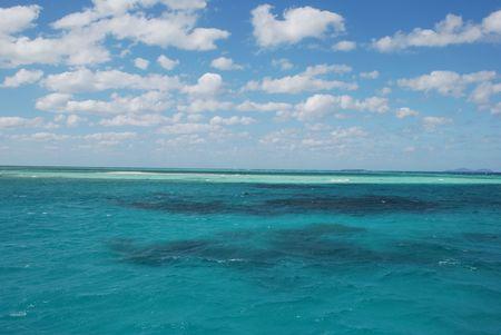 whitsundays: upolo cay island