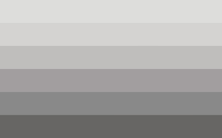 asexual: Straight pride flag in vector format. LGBT community flag. Illustration