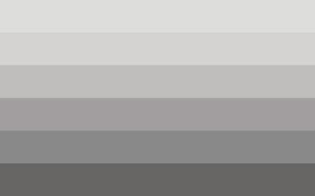 sexual orientation: Straight pride flag in vector format. LGBT community flag. Illustration
