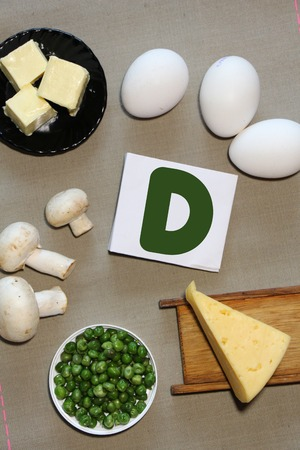 c vitamin: Foods containing vitamin C : eggs, peas, cheese, butter and mushrooms