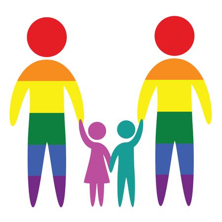 98 Adoption Gay Stock Vector Illustration And Royalty Free ...