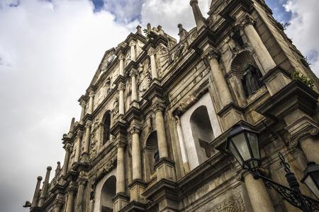 macau: Macau ruins of summer