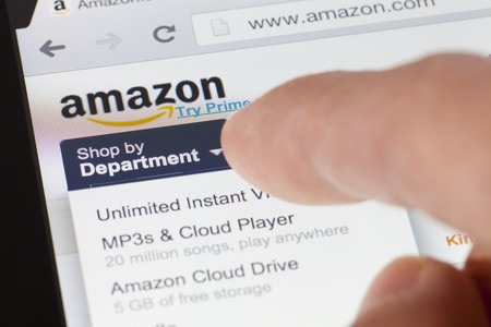 Adelaide, Australia - August 18, 2013: Browsing the ebay webpage on an ipad. eBay is one of the largest online auction and shopping websites in the world. Editorial