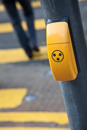audible: Audible pedestrian signal at a pedestrian walk