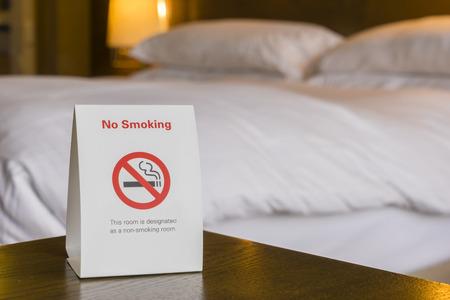 non: Non smoking hotel room