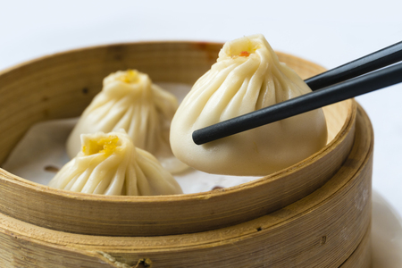 Traditional Shanghai dumpling, also called xiaolongbao