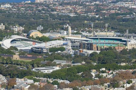 Sydney Football Stadium and Sydney Cricket Ground 写真素材 - 107327815