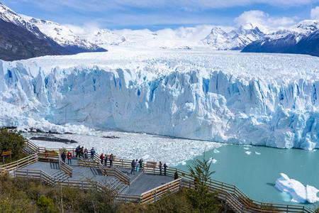 Lodowiec Perito Moreno w Parku Narodowym Los Glaciares w Argentynie