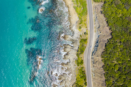 Great Ocean Road in Australia Stock Photo