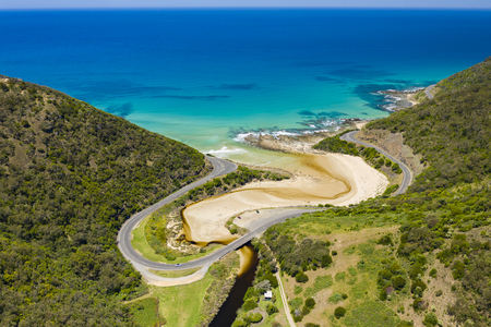 Great Ocean Road in Australia Stockfoto