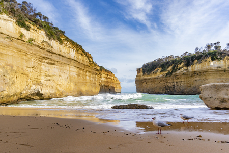 Loch Ard Gorge along the Great Ocean Road in Australia