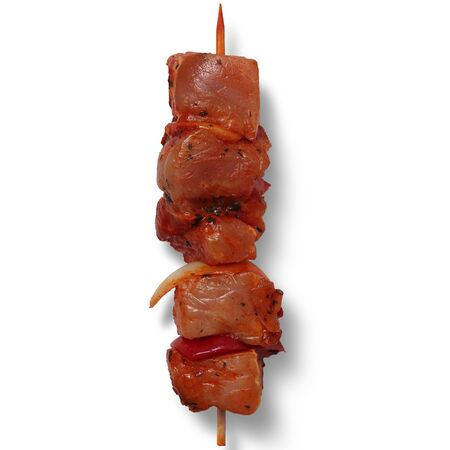 meat skewer , Beautiful Food , High Quality Фото со стока