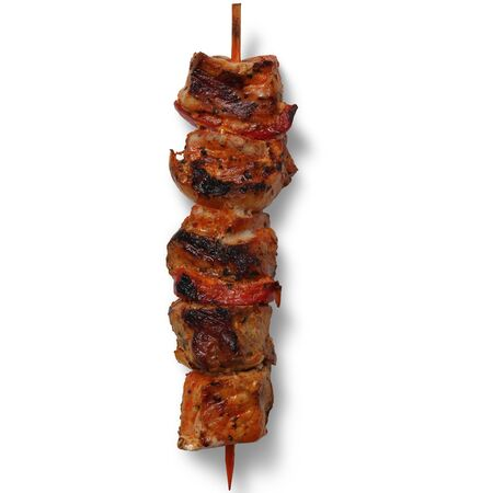 meat skewer grilled, Beautiful Food , High Quality