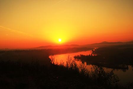 severn: sunrise