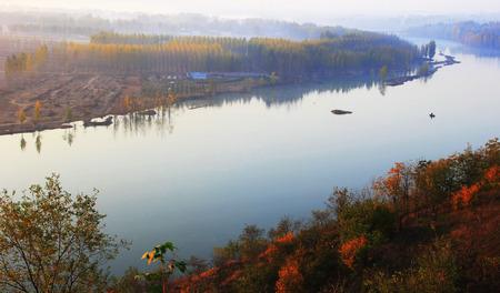 severn: Fishing village Stock Photo