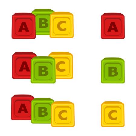 Alphabet Blocks Stock Vector - 8977959