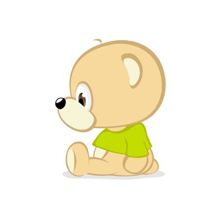 Cute Lil Teddy Stock Vector - 9886038