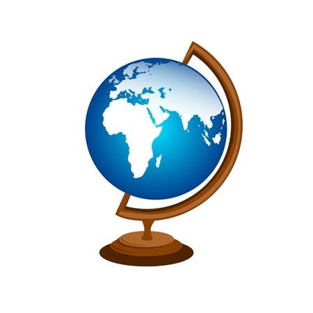 Table Globe Stock Vector - 11020010