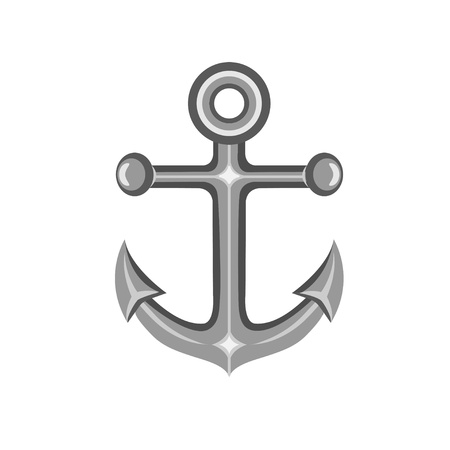 Metal Anchor Vector