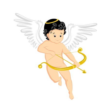 Little Cupid Stock Vector - 11029615