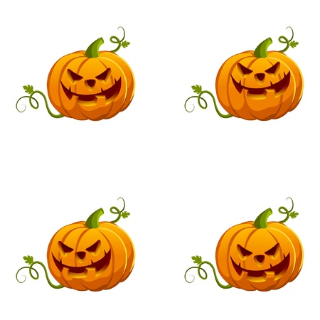 Halloween Pumpkin Stock Vector - 11029617