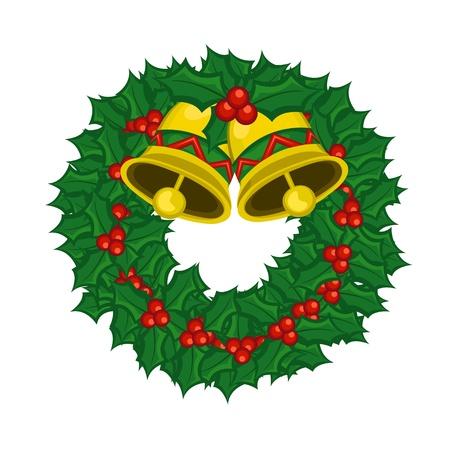 Christmas Wreath Stock Vector - 11491152