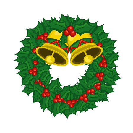 Christmas Wreath Stock Vector - 11491152