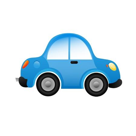 convertible car: Coche Vectores