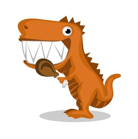 Carnivorous Dino Vector
