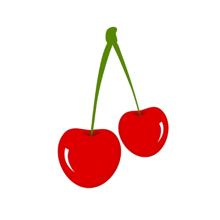 Cherry Stock Vector - 13508584