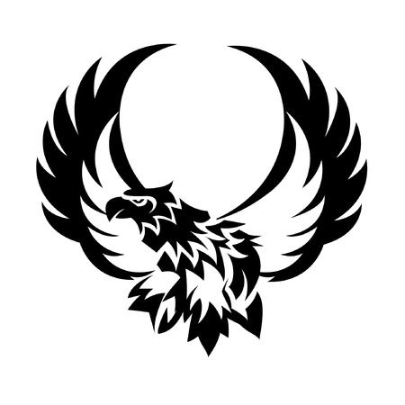 Eagle Tattoo Stock Vector - 13888736