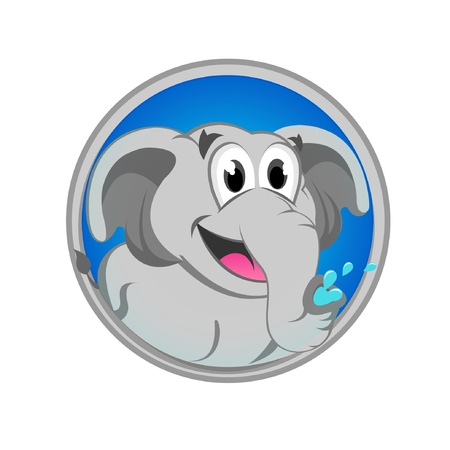 Baby Elephant Stock Vector - 13888740