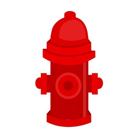 Boca de incendio Ilustración de vector