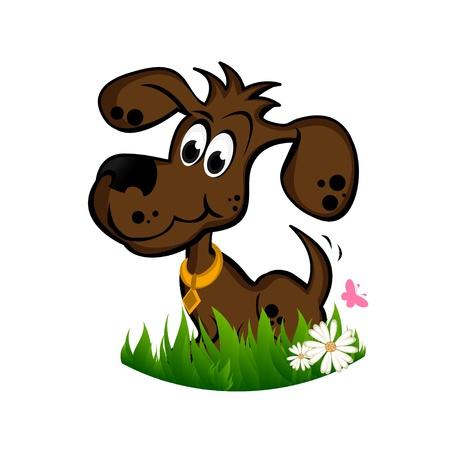 Brown Dog Illustration
