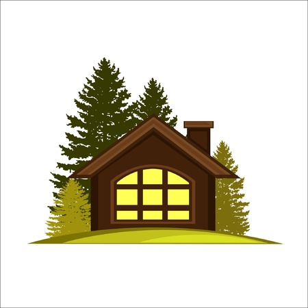 Cabin House Vector