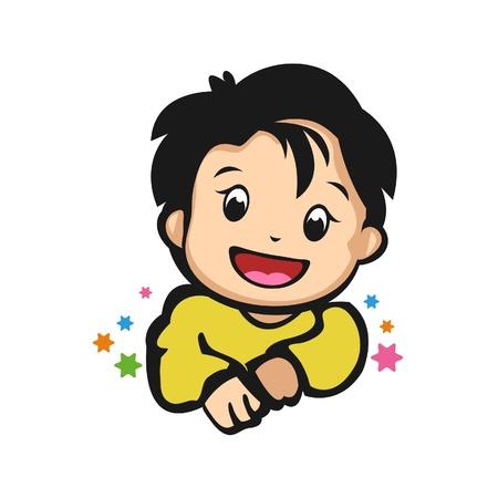 Giggle Baby Illustration