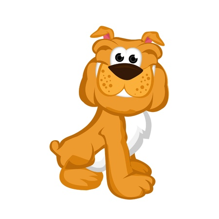 Dog Smile Vector